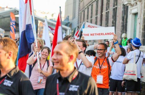 Openingceremonie European Company Games Gent 2017