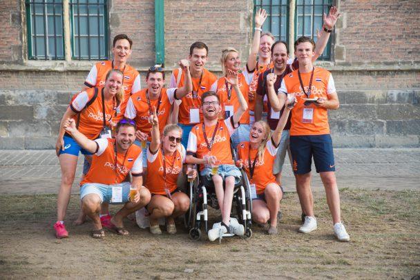 Nederlandse delegatie bij de European Company Sport Games. Op naar een Salzburg2019!